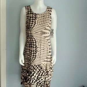 Great Abstract Design Midi Dress by Tango Mango